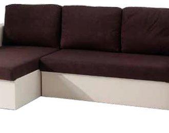 Divano letto con chaise longue